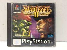 Warcraft II 2 The Dark Saga Sony Playstation 1 PS1 Pal