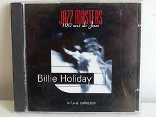 CD ALBUM Jazz masters 100 ans de jazz BILLIE HOLIDAY