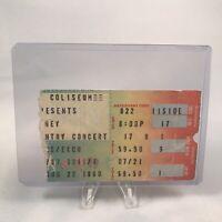 Journey New Haven Veterans Memorial Concert Ticket Stub Vintage August 22 1980