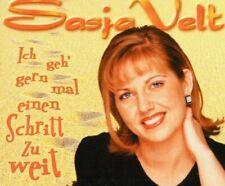Sasja Velt Ich geh' gern mal einen Schritt zu weit (2001; 2 tracks)  [Maxi-CD]