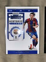 2019-20 Panini Chronicles Lionel Messi Contenders Historic Ticket SP Barcelona +