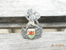 Vintage Oktoberfest Hiking Hunting Ski German Hat Pin ST. GOAR