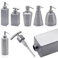 1 Edelstahl Seifenspender Spülmittel Dosierer Pumpspender für Flüssigseife Bad