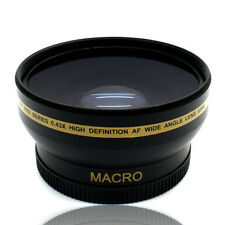 67MM HD Wide Angle Macro Lens for Nikon 18-105MM Canon 18-135MM Lens