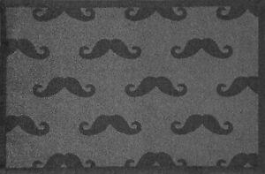 Moustache Allover Nylon doormat -Turtle Mat Lume - 75x50cm - Anti-slip - Bright
