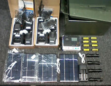 EMP/CMD Communications and Flashlight solar survival prepper faraday cage kit