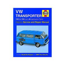 [3452] VW Transporter Water Cooled 1.9 2.1 Petrol 82-90 (up to H Reg) Haynes Man