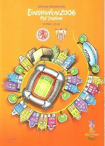 UEFA CUP FINAL 2006 Middlesbrough v Sevilla - Official programme