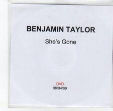 (DJ776) Benjamin Taylor, She's Gone - 2009 DJ DVD