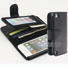 Long Wallet Credit Flip Leather Case Cover For iPod Touch 5 5G 5TH