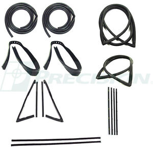 NEW Weatherstrip Seal Kit / FOR LISTED CHEVROLET CHEVY GMC PICKUP TRUCK 1967