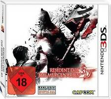 Nintendo 3DS Spiel Resident Evil Mercenaries NEU*NEW*18