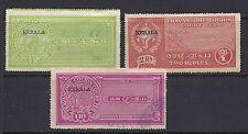 INDIA KERALA 3 different REVENUES USED