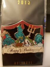 WDI Haunted Mansion Thanksgiving 2013 Hitchhiking Ghosts Pin Limited Edition 250
