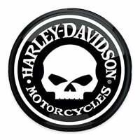 Harley Davidson Skull Decal Sticker