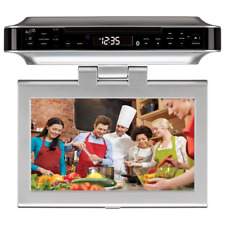 """Multimedia Player Under Cabinet System 10"""" LCD Screen Bluetooth DVD CD FM HDMI"""