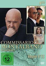 4 DVDs *  COMMISSARIO MONTALBANO - VOLUME 7 # NEU OVP &