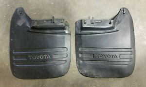 Rear Mudflaps Left & Right 2000-2006 Toyota Tundra Mud Guard Flaps 4 Runner 4WD