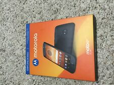 Brand New Gsm Factory Unlocked Motorola E5 Play Prepaid Cell Phone - Black
