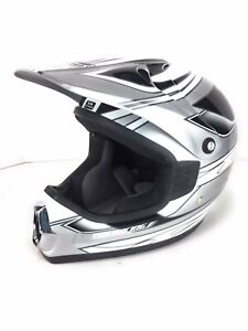 Fox Racing Tracer Kid Off Road ATV Dirt Bike Helmet Size XS 53-54cm Skull
