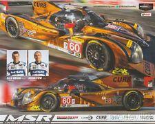 2016 Michael Shank Racing Curb Records Honda Ligier JS P2 IMSA WTSC postcard