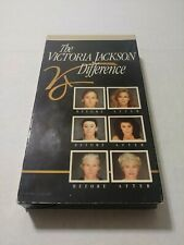 THE VICTORIA JACKSON DIFFERENCE Video VHS Makeover Methods Makeup Cosmetics