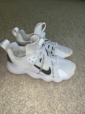 Nike React Hyperset white black volleyball shoes indoor court size 8 EUC