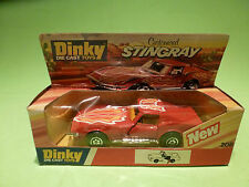 DINKY TOYS 206 CUSTOMISED STINGRAY - CHEVROLET - RARE SELTEN - GOOD COND. IN BOX