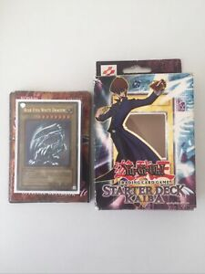 Yu-GI-Oh! - SDK Kaiba Starter Deck Complete with Box - Good Condition - 2002 OG
