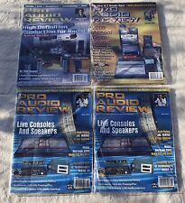 PRO AUDIO REVIEW • Vintage Audio • Lot of 4 • 2000 Annual Gear Guide, HD radio