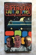 Supernova Last In Space A Show For Kids VHS 1996 Amphetamine Reptile Rock Comedy
