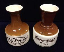 Vintage Elischer Wine Decanters Berri Estates and Kaiser Stuhl