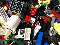 Lego 200 Random Pieces Mixed Bricks Plates Parts Tires Set Guaranteed Bulk Lot