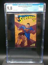 Superman: The Man of Steel #1 2006 [CGC 9.8] Yu Variant Best Buy Exc. DVD Insert