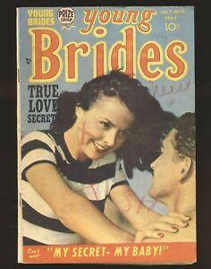 Young Brides Vol. 1 # 6 - Simon & Kirby art VG Cond.