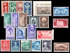 ITALIA Repubblica Annata 1949 a scelta tra tutti i valori MNH ** integri !