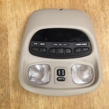 1999-2004 Chrysler 300M Concord LHS EVIC OTIS Trip Computer Homelink light grey