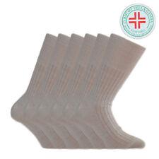6 paia di Calze  Uomo Sanitaria Riposante Bassa Compressione 100% cotone