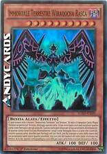 Immortale Terrestre Wiraqocha Rasca ☻ Super Rara ☻ LC5D IT150 ☻ YUGIOH ANDYCARDS