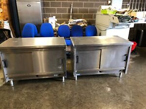 Stainless Steel Cabinet/worktops (cafe,catering,takeaway)2 Available