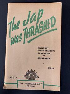 Australia WW2 Book - The Jap Was Thrashed - 1942-43 - Kokoda Milne Bay Buna Gona