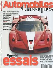 AUTOMOBILES CLASSIQUES n°154 FERRARI 599 GTB BUGATTI VEYRON PORSCHE 911 GT3 Z4