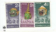 THAILAND # 734-736 and 738-740 VF-MLH 2 DIFFERENT SETS CAT VALUE $46
