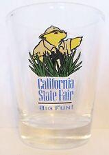 CALIFORNIA STATE FAIR  BIG FUN  CUTE BEAR  SHORT SHOT GLASS