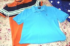 Polo Ralph Lauren Boy's Extra Large (18-20) S/S polo Shirts LOT OF (2)