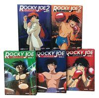 26 Dvd x 5 Box Cofanetto ROCKY JOE serie collezione completa 1970