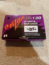 Onza OZ-120 Aluminum Bar Ends 135 Grams BNIB