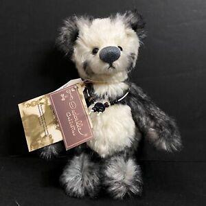 "Bear Studio Isabelle Collection Joel artist designed panda bear #221/2000 8"""