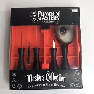 Sturdy Pumpkin Carving Kit - 5 Pc Set - 8 Carving Patterns Pumpkin Masters®