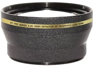 72MM 2.2X TELEPHOTO ZOOM LENS FOR NIKON  85mm f/1.4 NIKKOR D3100 D3200 D7100
